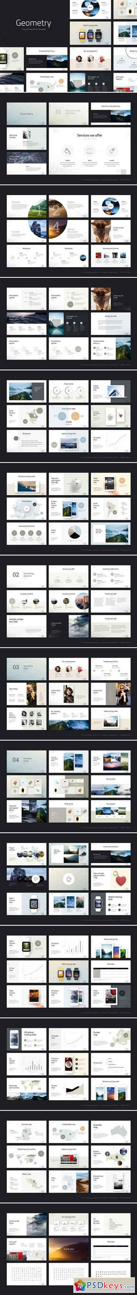 Geometry Keynote Template 961425