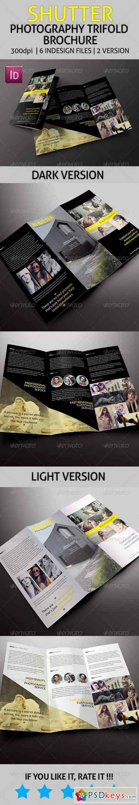 Shutter - Photography Trifold Brochure 7846761