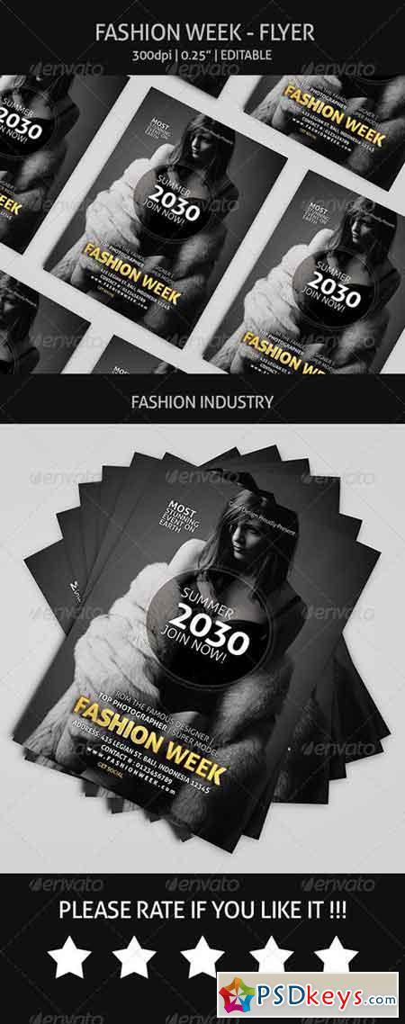 Fashion Week - Flyer 8060998