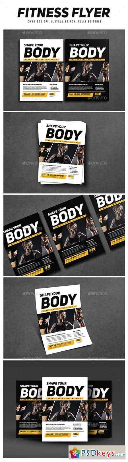 Fitness Flyer 16538520