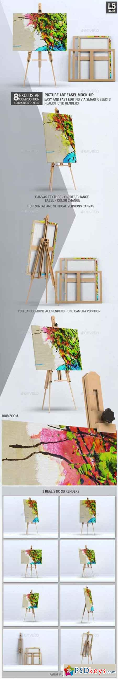 Picture Art Mock-Up 13358020