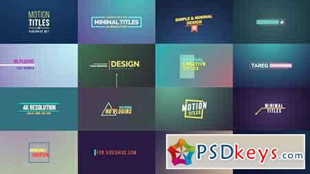Motion Titles 17490523 - After Effects Projects