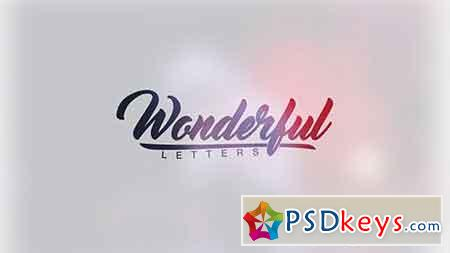Wonderful Letters 18101492 - After Effects Projects