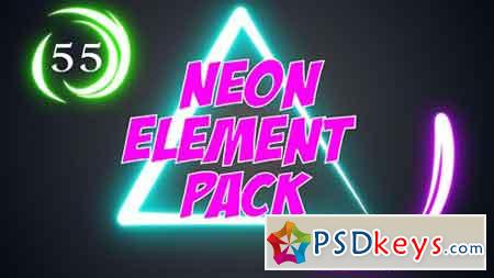Neon Element Pack 17203195 - After Effects Projects