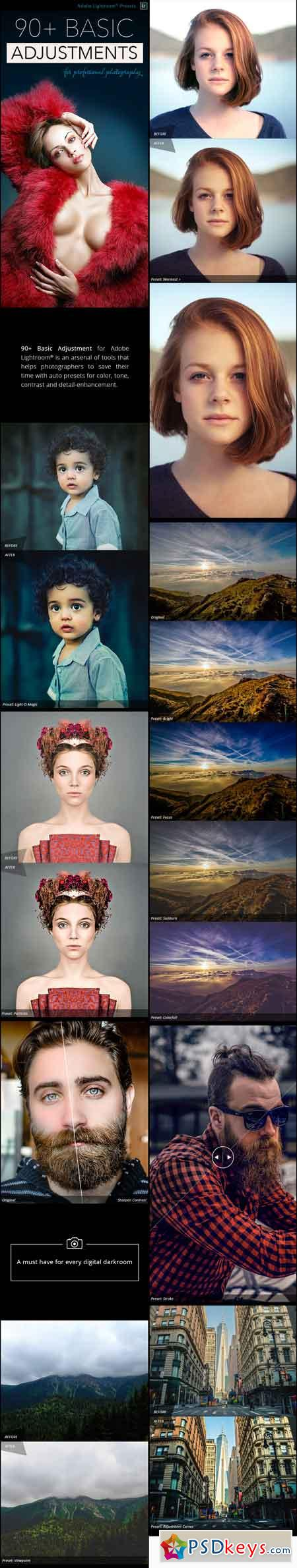 90 Basic Adjustment - Professional Adobe Lightroom Presets 18316189