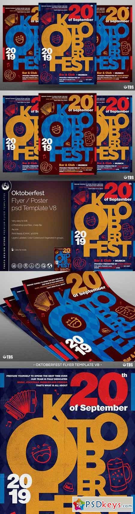 Oktoberfest Flyer Template V8 848404