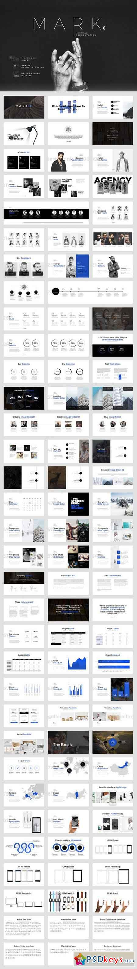 Mark06-Minimal Powerpoint Template 796263