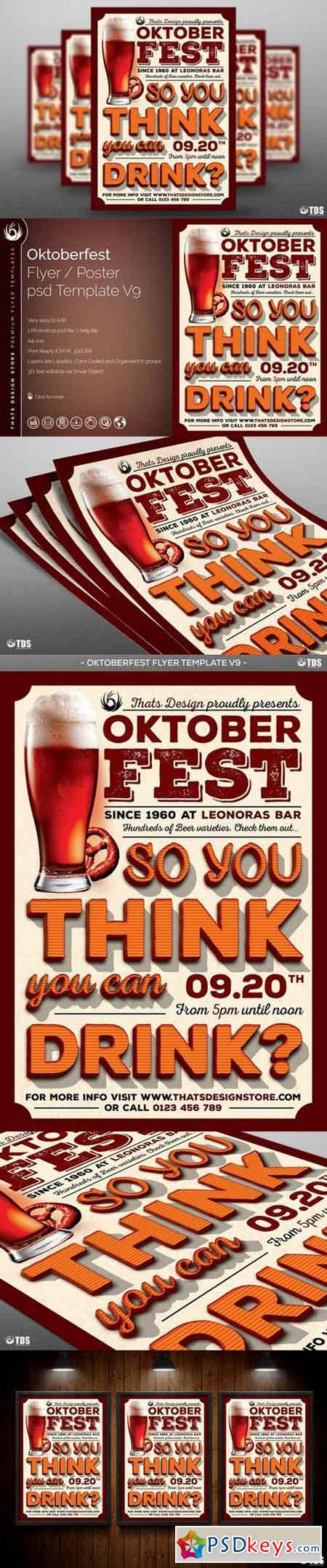 Oktoberfest Flyer Template V9 848721