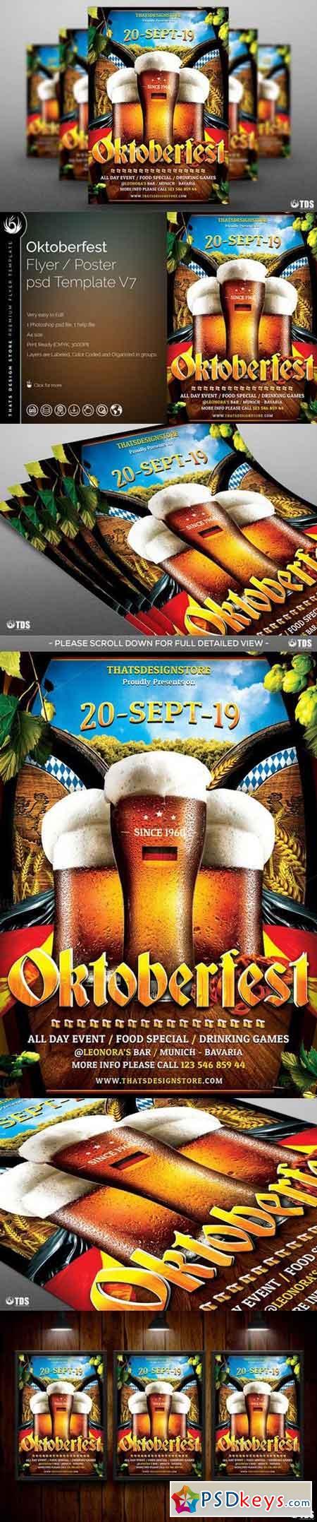 Oktoberfest Flyer Template V7 841710