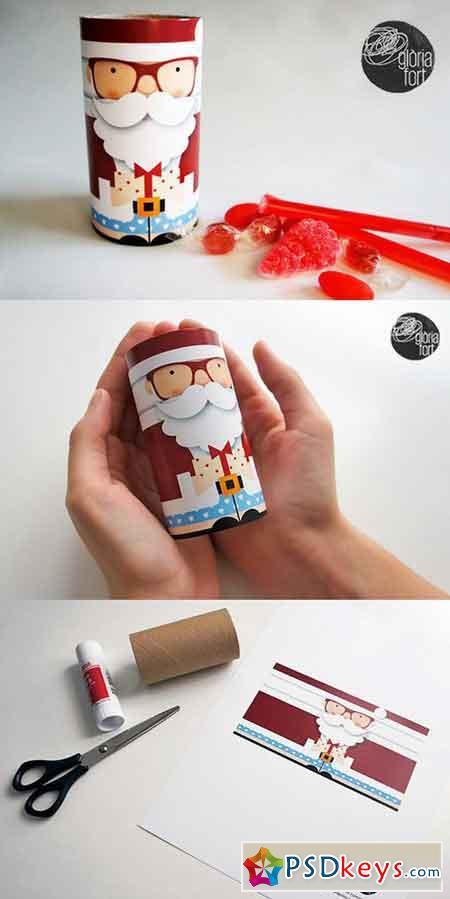 Santa Claus _ paper game 951519