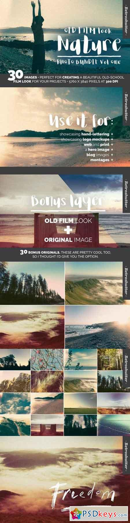 Old Film-Look Nature Images Vol One 906656