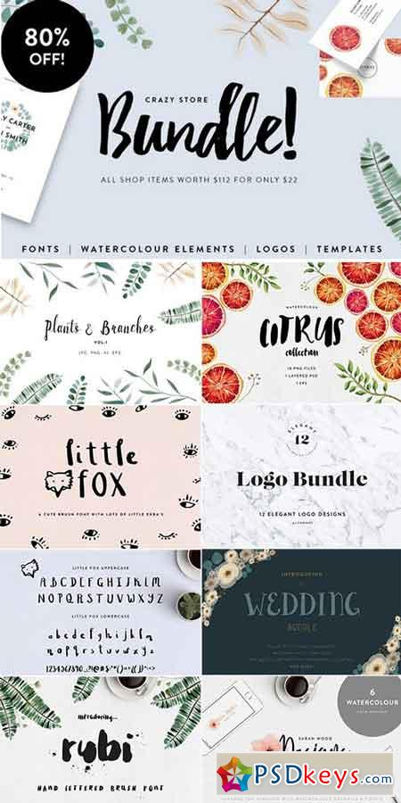Font and Graphic Bundle 785644