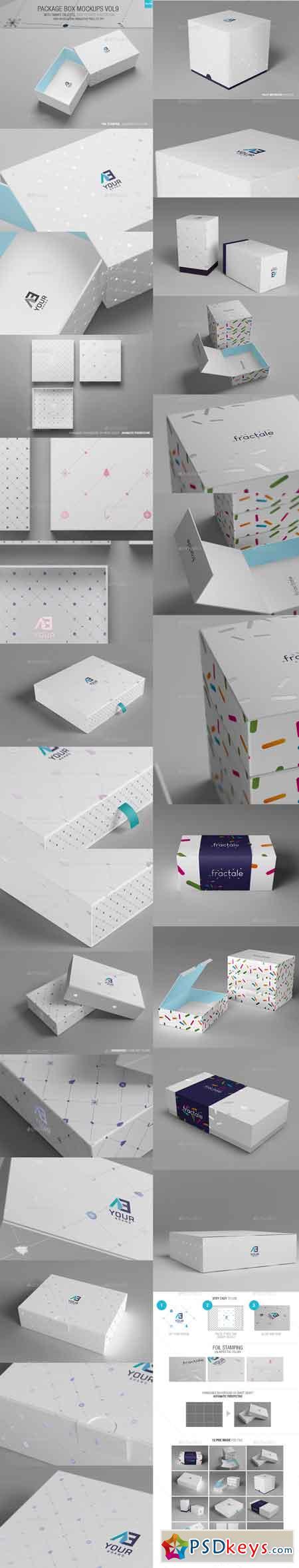 Package Box Mockups Vol9 13547117