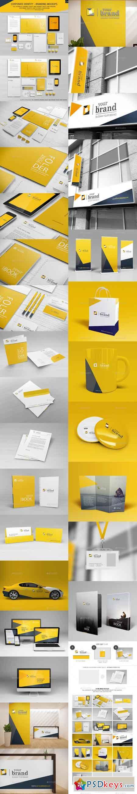 Corporate Identity - Branding Mockups 6944354