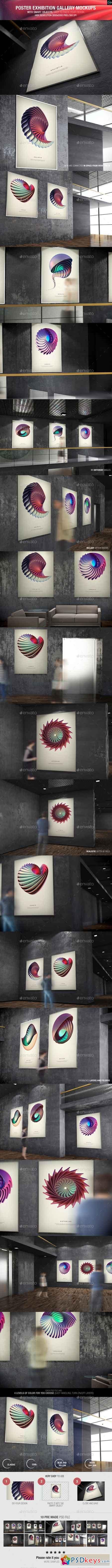 Poster Exhibition Gallery Mockups 9426620
