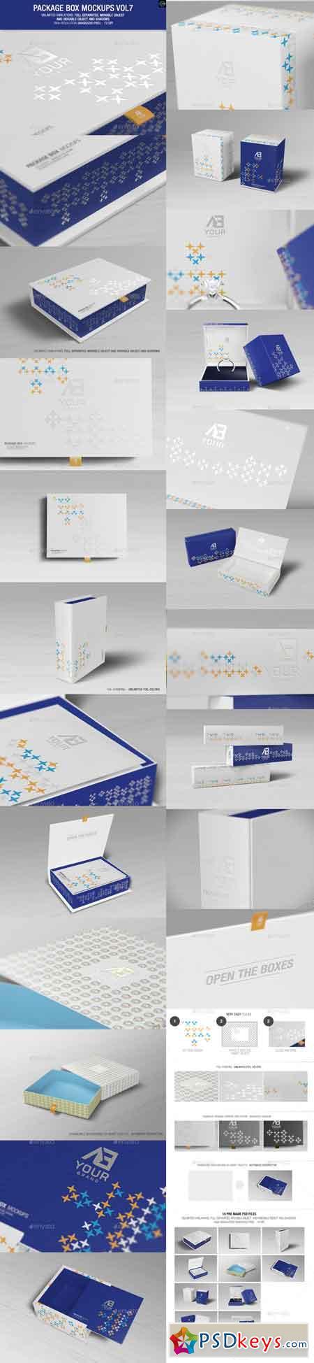 Package Box Mockups Vol7 9924029
