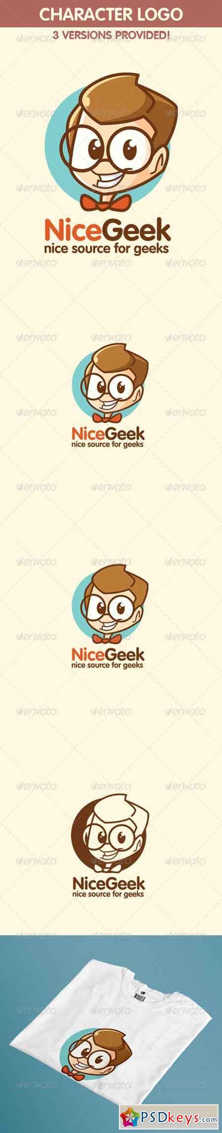 Geek Logo - Nice Geek or Nerd Logo 5497916