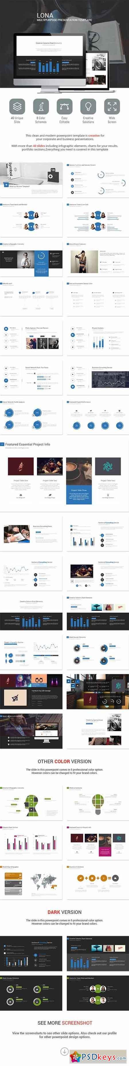 Lona Presentation Template 9729682