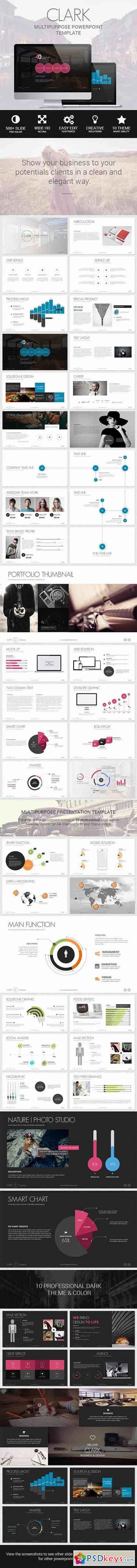 Clark - Business & Marketing Creative Template 8324349