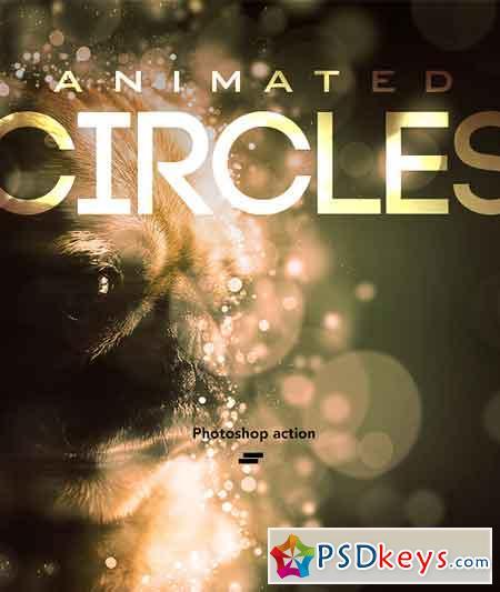 Gif Animated Circles Photoshop Action 18266389