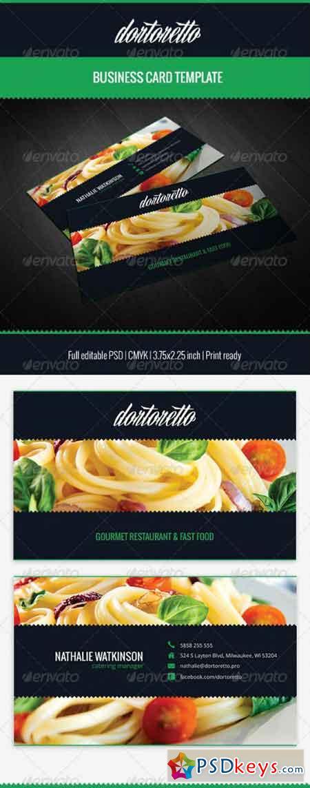 Dortoretto Business Card 5471203