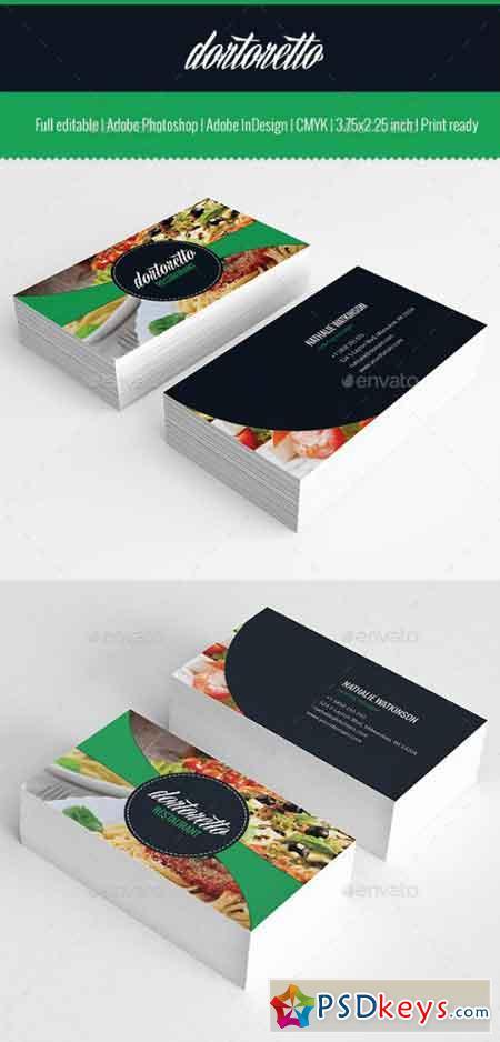 Dortoretto Business Card v2 10399335