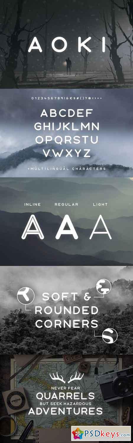 Aoki Typeface 996629