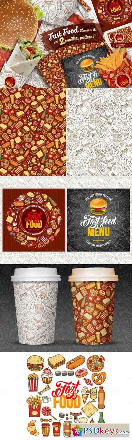 Fast Food Patterns and Elements 1007644