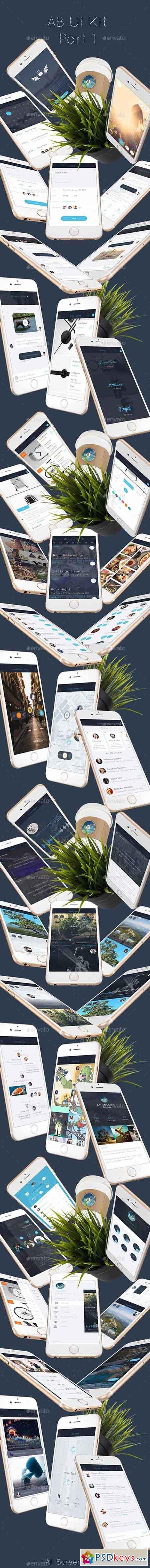AB1 Mobile UI Kit 12432630