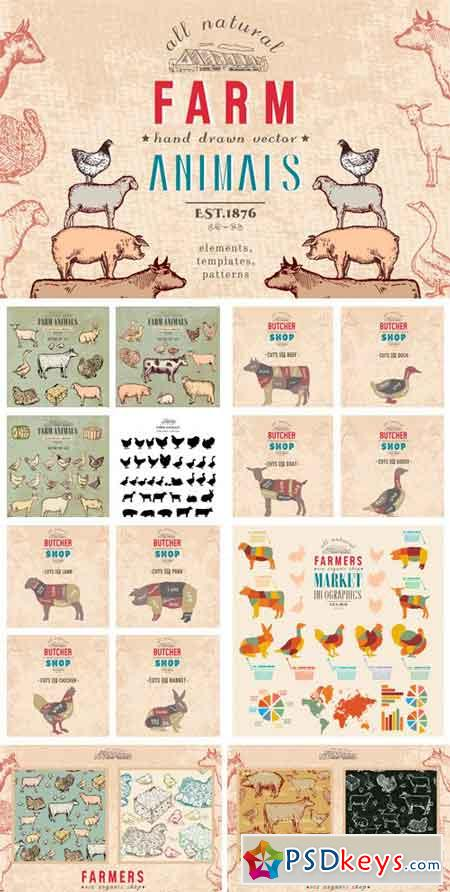 Farm Animals Collection 945193