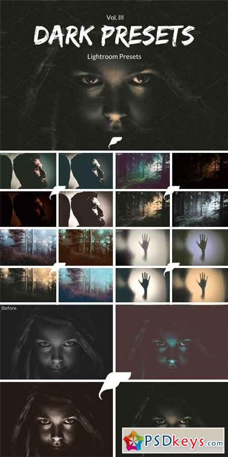Lightroom Presets - Dark Presets III 1006680