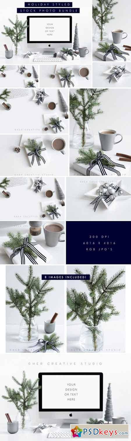 Holiday Styled Stock Bundle Grey 1011157