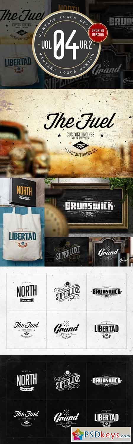 Vintage Logos Design Vol.04