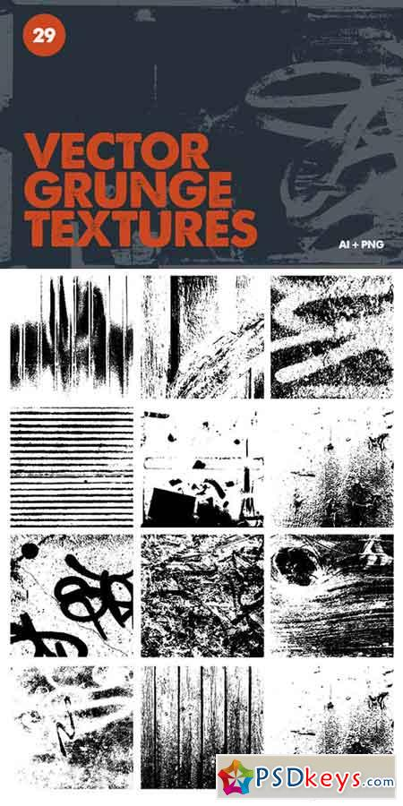 Vector Grunge Textures 1024305