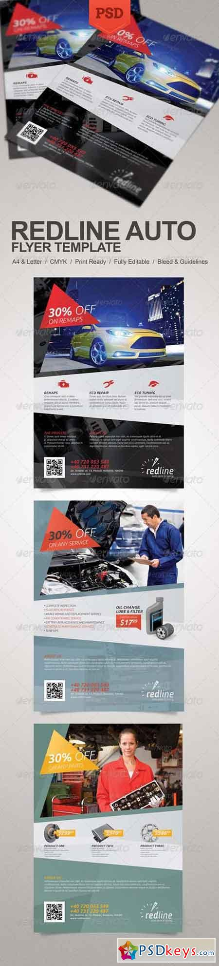 Redline Auto Flyer 5712728