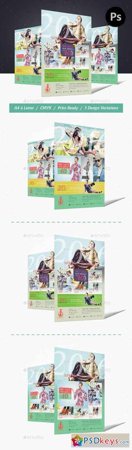 Fashion Shop Flyer 13838027
