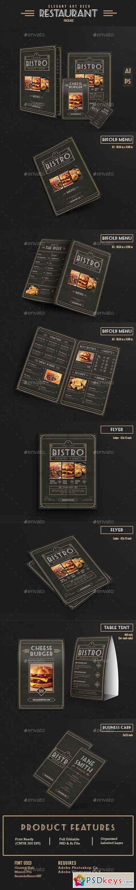 Elegant Restaurant Package 13649055