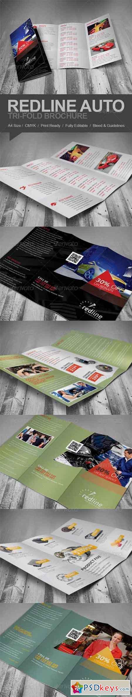 Redline Auto Tri-fold Brochure 5809238