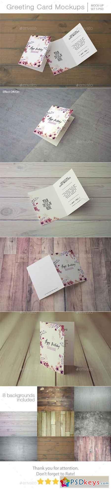 Invitation & Greeting Card Mockups 13570172