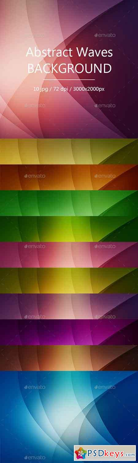 Abstract Waves Backgrounds 17375510