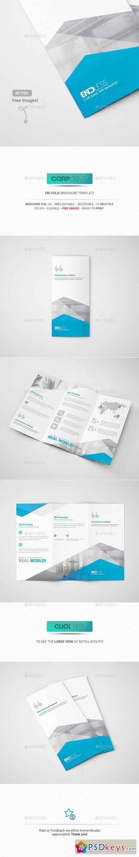Tri fold brochure 13529405 free download photoshop for Tri fold brochure template photoshop free