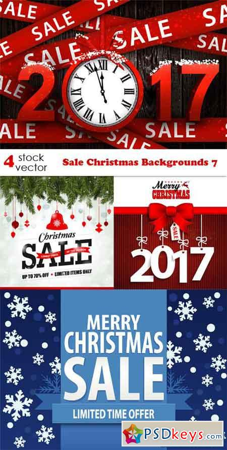 Sale Christmas Backgrounds 7