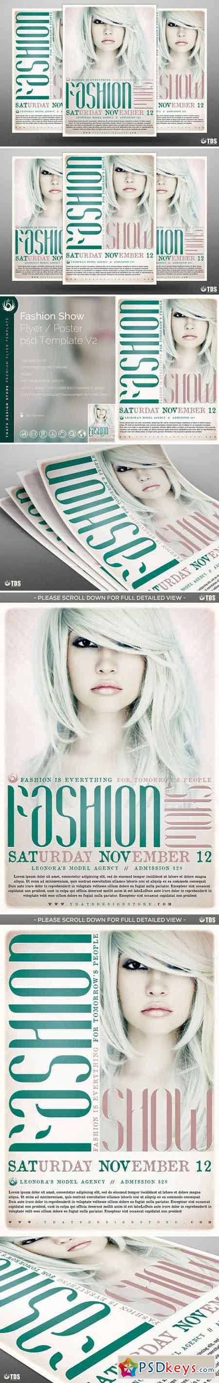 Fashion Show Flyer Template V2 642292