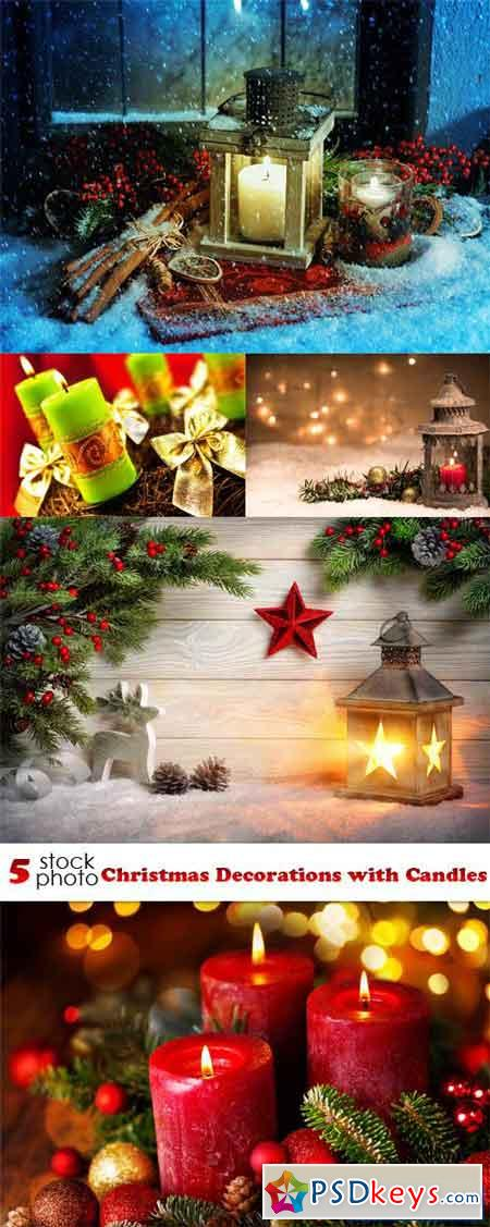 Photos - Christmas Decorations with Candles