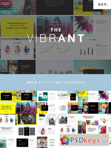 The VIBRANT - Keynote Template 1021810