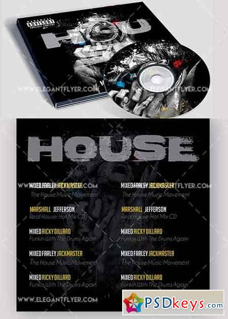 Cd dvd free download photoshop vector stock image via for House music zippyshare