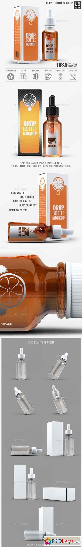 Dropper Bottle Mock-Up 15513502