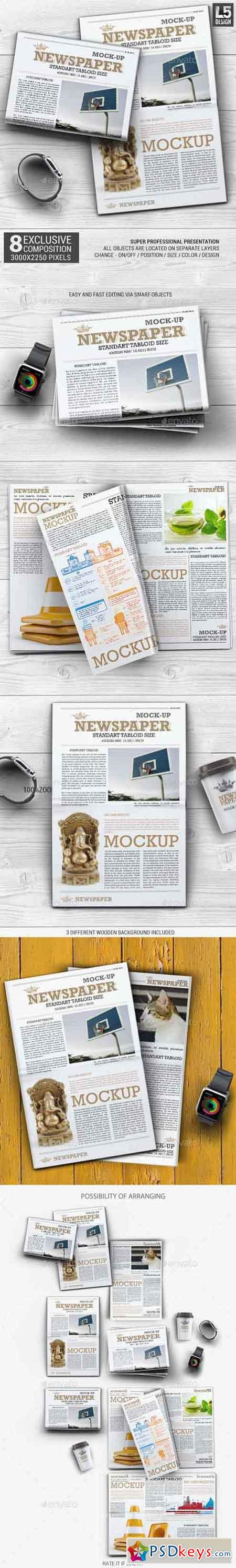 Newspaper Mock-up 13112708
