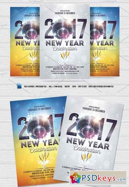 New Year Celebration Flyer 1000498