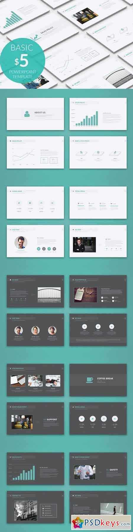 Basic powerpoint template 1020552 free download for Powerpoint templates torrents